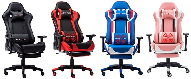 gaming chair with massage
