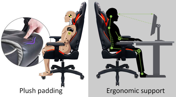 Gaming Chair with Speaker Bluetooth speaker gaming chairs