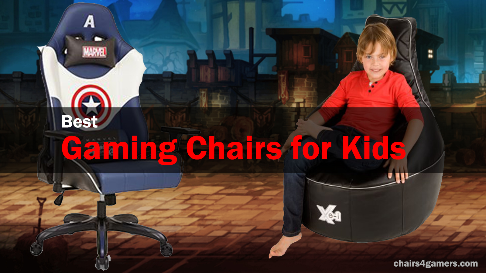 Picture of: Best Gaming Chairs For Kids The 4 Best Chairs For Kids