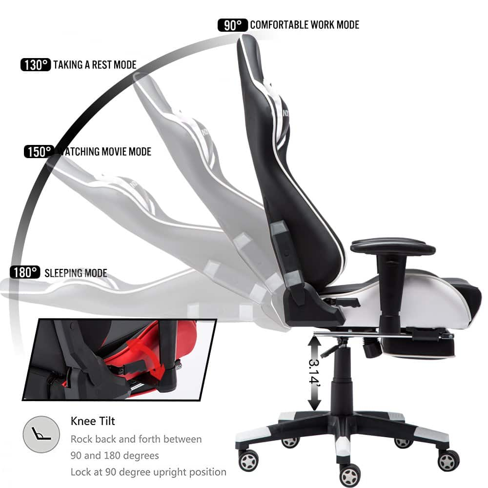 Gaming Chairs vs Office Chairs Gaming Chair with Speaker