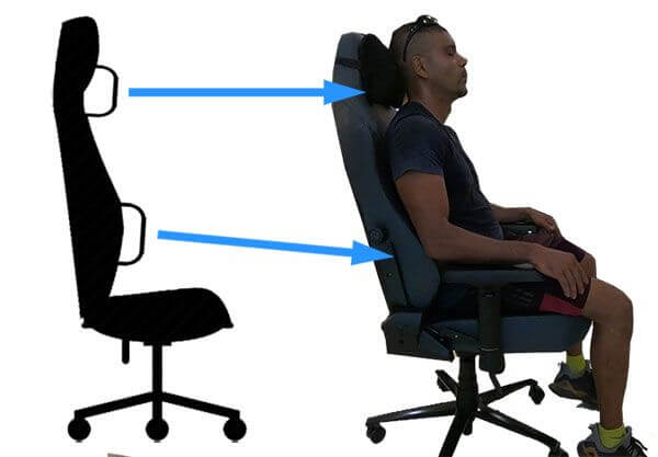 best gaming chairs with back support