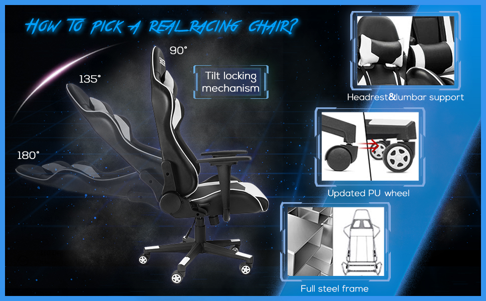 5 best gaming chairs for short people